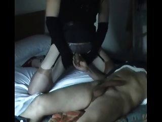 हस्तमैथुन और एक अजनबी चूसने