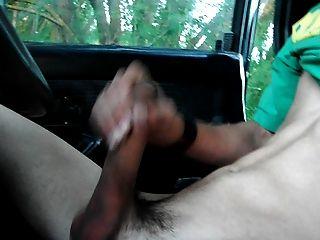 मेरी गाड़ी में wanking