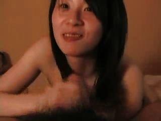 जापानी शौकिया blowjob