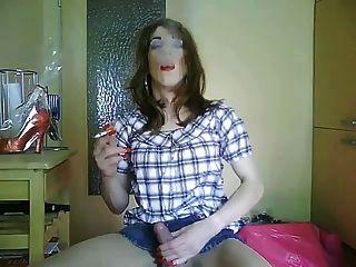 किन्नर tvsonja धूम्रपान बुत 2