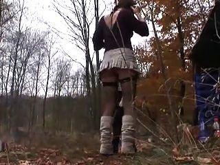 geiler फिक im Wald