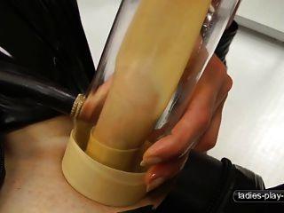 दूध देने की मशीन - पुरुष सेक्स गुलाम