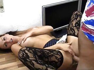 सेक्सी बेब गुदा और बिल्ली jizz में कवर हो जाता है!