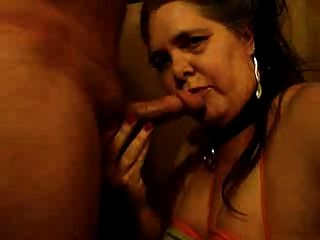 पति और स्तन के साथ मेरे चेहरे पर सह करने के लिए blowjob तंग बाध्य !!