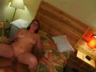सींग फैट मोटा पूर्व gf सवारी मुर्गा और स्तन पर हो रही सह