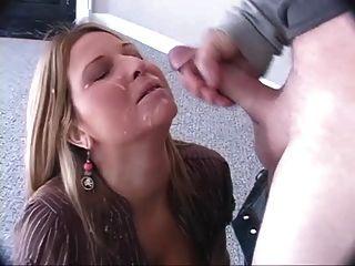 sexa शौकिया blowjob और महान चेहरे cumshot