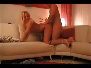 असली घर का सेक्स टेप पर गर्म गोरा पत्नी
