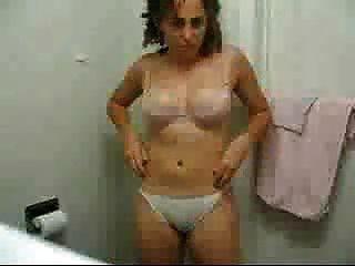 एक नग्न संदेश भेजने पत्नी