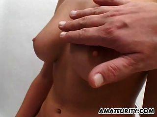 बड़े स्तन के साथ शौकिया gf बेकार है और चेहरे के साथ fucks