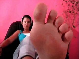 पैर बुत soleful पैर की उंगलियों