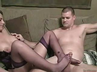 सेक्सी गोरा झटका नौकरी और पैर काम