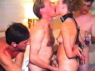 होटल गैंगबैंग में ब्रिटिश फूहड़ पत्नी