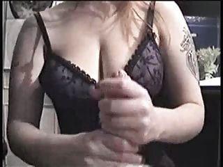 महान स्तन handjob