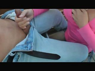 गुलाबी लेडी शुक्राणु licks