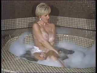 बबल स्नान