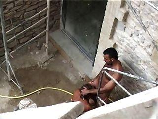 फ्रेंच आदमी बकवास गर्म अरब बाहर