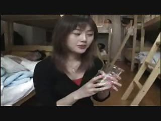 Nanami nanase Gokkun 8 लोड सह पीने