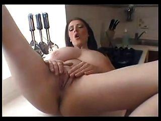 बड़े विशाल प्राकृतिक स्तन स्तन mastubation