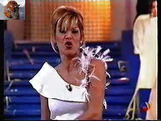 Yolanda रामोस स्पेनिश टेलीविजन पर पट्टी