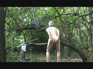 एक पट्टी, जंगल में wank और सह