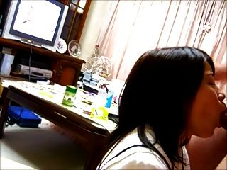 एशियाई जापानी चेहरे cumshot शौकिया Daiki और मिका