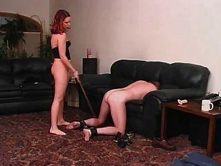 एक महिला और उसके दास