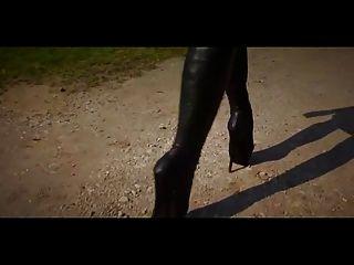 सुंदर बैले एड़ी के जूते