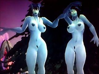 3 बंद Warcraft की दुनिया झटका - draenei बहनों