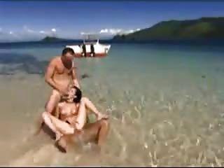 Snahbrandy द्वारा समुद्र तट पर trio