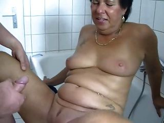 geile माँ