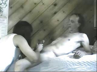 tranny रसदार creampie के लिए BF लेस्बियन लेता है