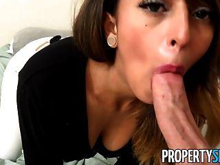 propertysex - किराये पर दिखने हॉट लैटिना बेकार है जलती