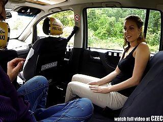 टैक्सी टैक्सी में अद्भुत सेक्स