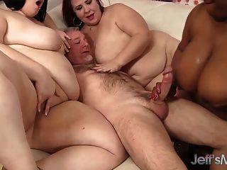 4 कामुक बीबीडब्ल्यू एक भाग्यशाली आदमी कमबख्त