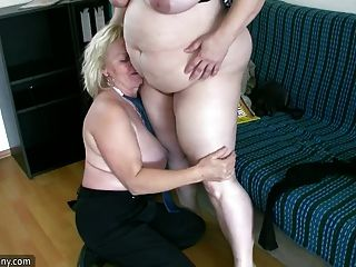 oldnanny सेक्सी मोटा परिपक्व और बीबीडब्ल्यू दादी