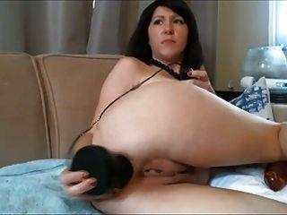 वेब कैमरा श्यामला 2 बड़ा dildos के साथ मुश्किल cums