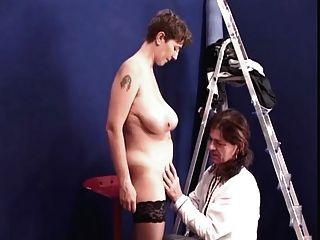 विशाल स्तन fucket के साथ अविस्मरणीय Brunete shorhair एमआईएलए