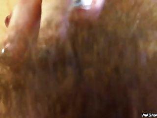 मेग्मा फिल्म बालों वाले किशोरों खुद को एक संभोग सुख होने फिल्माने