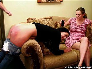नंगे नीचे नहीं उसकी बहन के सामने चाबुक की मार