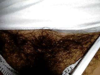 मेरी पत्नी बहुत पारदर्शी सफेद अधोवस्त्र में बालों