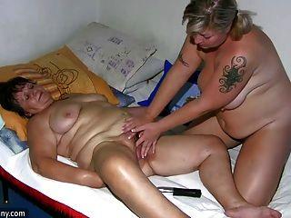 oldnanny मोटा महिला और milf हस्तमैथुन, बकवास और के साथ खेलने