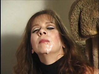 शौकिया एमआईएलए मुखमैथुन और फेशियल slomo संकलन