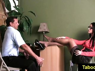 fetishnetwork एलेक्सिस अनुग्रह handjob चिकित्सा