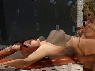 चित्रों 3 डी: खूबसूरत किन्नर एक अच्छा Blondie बकवास