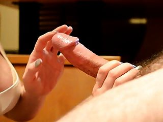 सेक्सी धीमी cocktease handjob