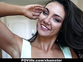povlife - श्यामला बकवास दोस्त का सेक्स टेप