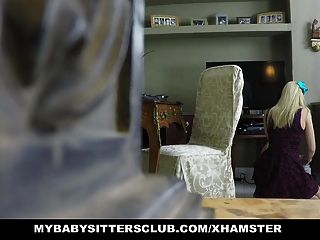 mybabysittersclub - दाई चोर को पकड़ लिया और गड़बड़ हो जाता है