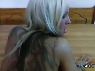 खो Privat Sextape vom जर्मन शौकिया अभिनेता सेक्सी कोरा
