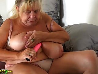 दो वसा Grannies और उनके बड़े स्तन oldnanny