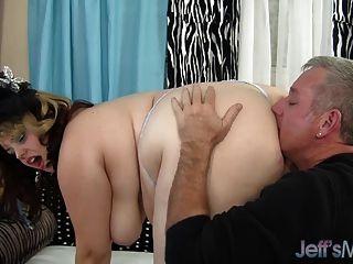 सेक्सी मोटा मॉडल buxom बेला यौन संबंध है
